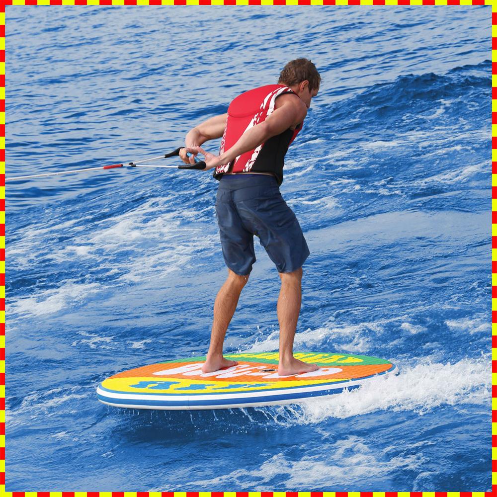 【トーイングチューブ】 バナナボート1人乗り ポンプ付 AIRHEAD DISC-GO AIR 60 ウェイクボード