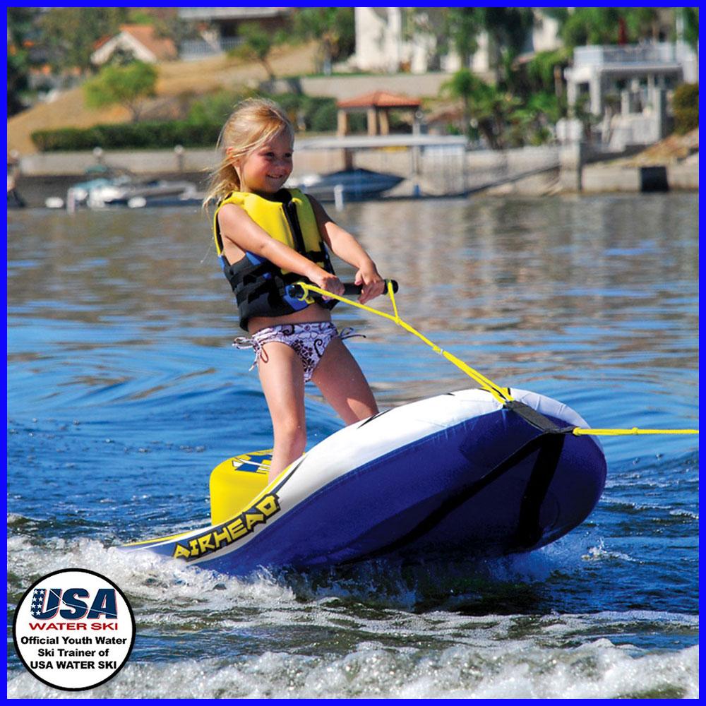 【トーイングチューブ】AIRHEAD EZ SKI エアーヘッド イージースキー ウェイクボード 水上スキー 子供