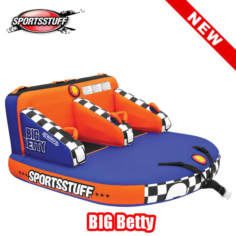 【トーイングチューブ】SPORTSSTUFF BIG BETTY 2人乗り スポーツスタッフ ビッグベティ NEWモデル