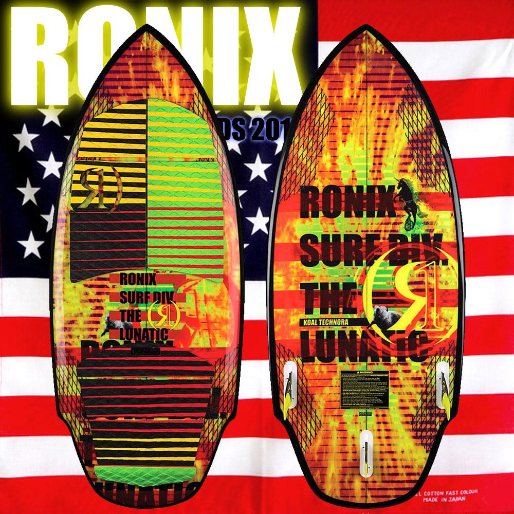 2018 ウェイクサーフィン RONIX ロニックス Koal Technora The Lunatic 5'1