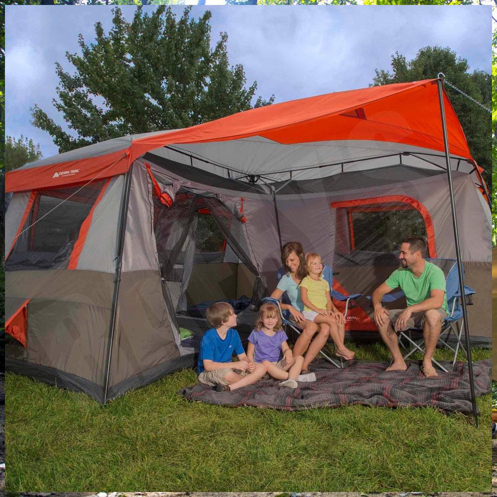【テント 大型】オザークトレイル 3ルーム 12人用 OZARK TRAIL 大型テント
