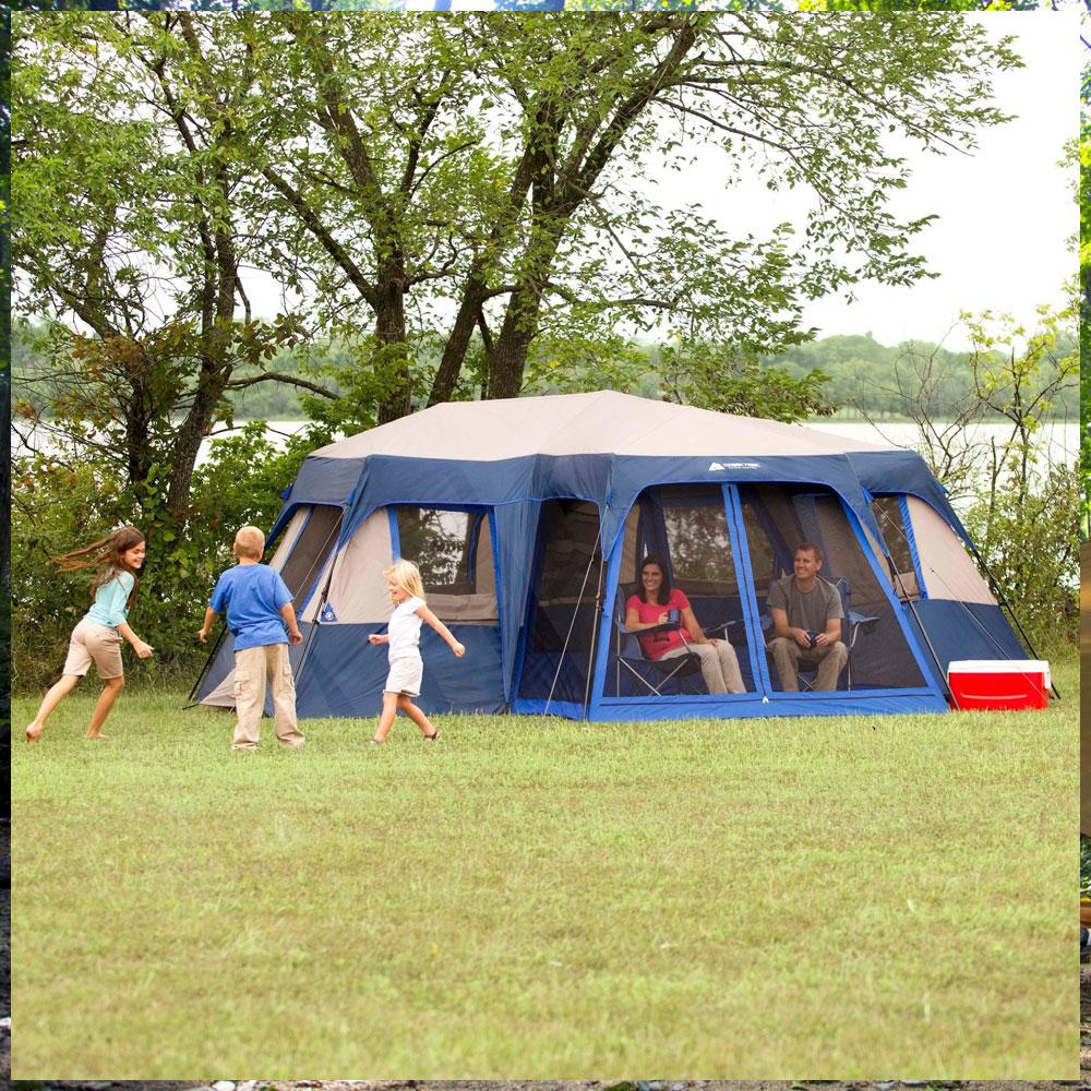 【テント 大型】オザークトレイル 2ルーム 12人用 OZARK TRAIL スクリーンルーム付き