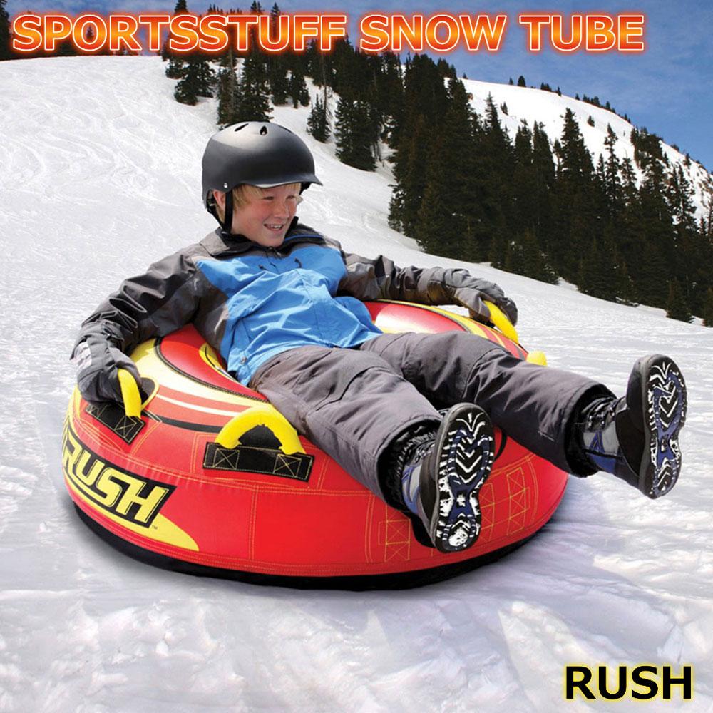 スノーチューブ・エアーチューブ 雪遊び 雪そり スノーボート SPORTSSTUFF RUSH Snow Tube 送料無料