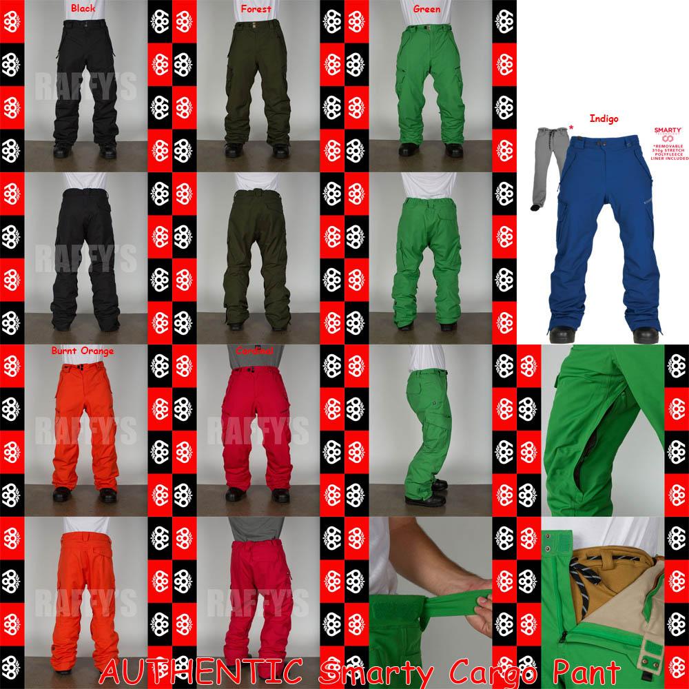 15-16 686 シックスエイトシックス スノーボード メンズ ウェア AUTHENTIC Smarty Cargo Pant パンツ/686/15-16/ウエア/2016