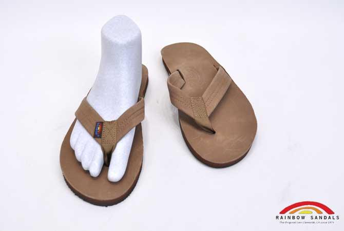 Rainbow Sandals/レインボーサンダル   Premier Leather(301Alts Single Layer)