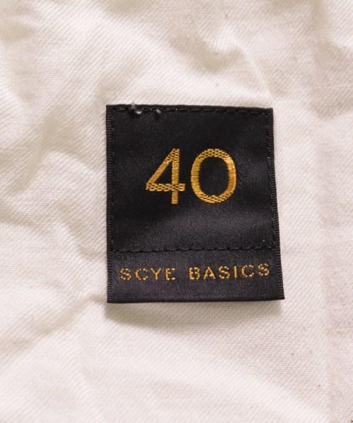 SCYE BASICS サイベーシックスチノパン メンズ送料無料vnwOm80N