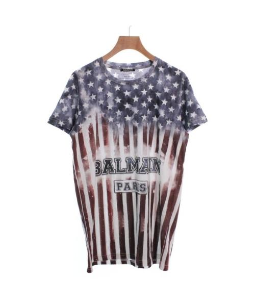 BALMAIN バルマンTシャツ・カットソー メンズ【中古】 【送料無料】