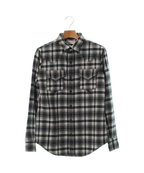 Saint Laurent Paris サンローラン パリカジュアルシャツ メンズ【中古】【送料無料】