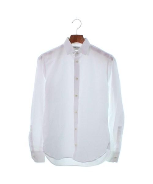 Saint Laurent Paris サンローラン パリドレスシャツ メンズ【中古】 【送料無料】