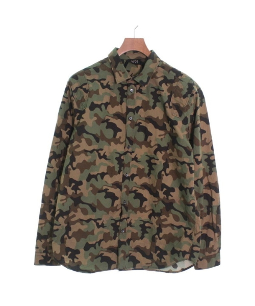 N゚ 21 ヌメロ ヴァントゥーノカジュアルシャツ メンズ【中古】 【送料無料】