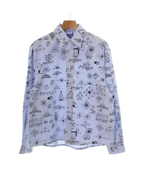 ≪シャツ≫ PACCBET ラスベートカジュアルシャツ 中古 デポー 送料無料 物品 メンズ