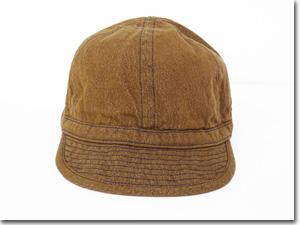 クーポン発行 BUZZ RICKSON'S バズリクソンズ BR02620ARMY BROWN DENIM CAPブラウン デニムキャップ 帽子 ミリタリーoCBdxe