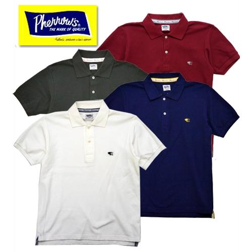 ポロシャツ 半袖 定番 フェローズ Pherrows PPS1