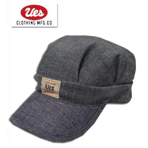 UES/ウエス ワークキャップ 82W 帽子 シャンブレー