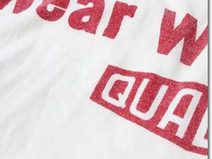 ウエス Tシャツ 半袖 プリント UES オーガニックコットン 2019年新作 651904 (★クーポン発行) 「UES WEAR WELL T」 ワンポイント