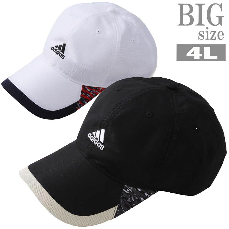 adidas アディダス キャップ 大きいサイズ メンズ ◆セール特価品◆ 帽子 100%品質保証 C030407-21 機能性 BIG 抗菌防臭 ポリジン
