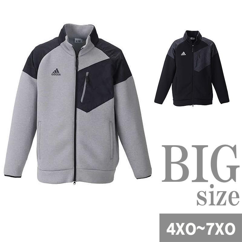スウェットジャケット メンズ 大きいサイズ ゴルフウェア スイングトップ ニット 紫外線カット C301001-15