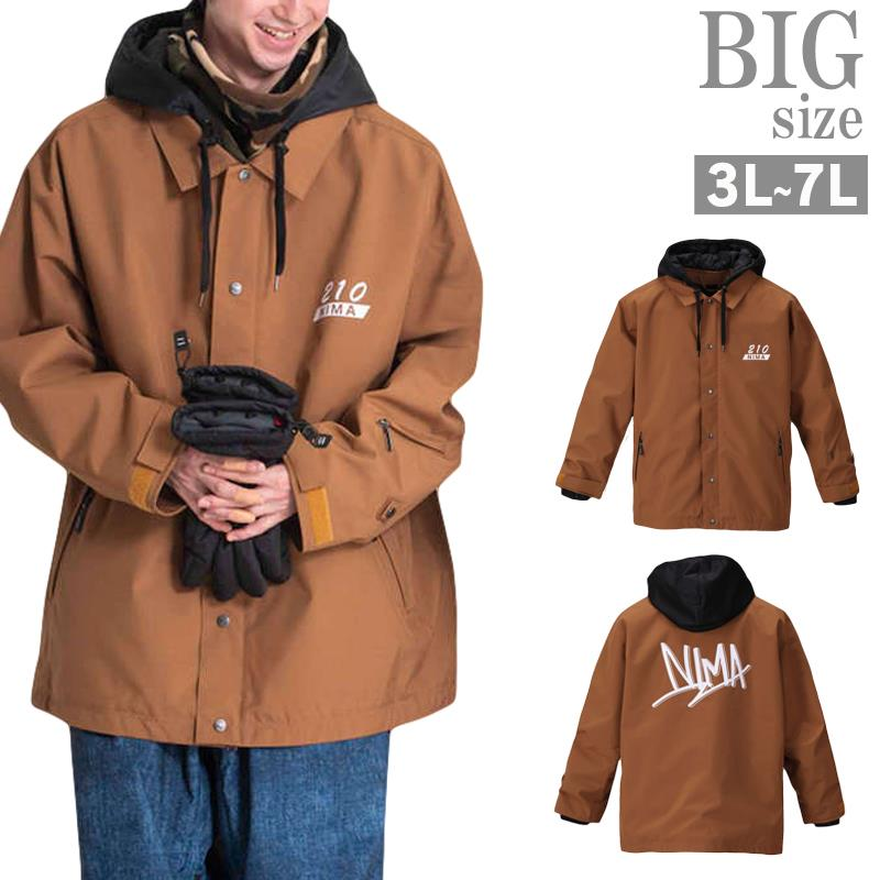 スノーボードジャケット 大きいサイズ メンズ スノボーウェア スキーウェア 機能性 お洒落 C011112-17
