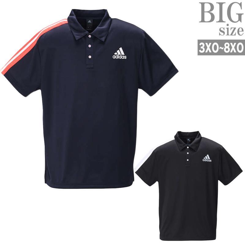 ポロシャツ 大きいサイズ メンズ adidas アディダス トレーニングウェア 機能性 スポーツウェア C020319-04
