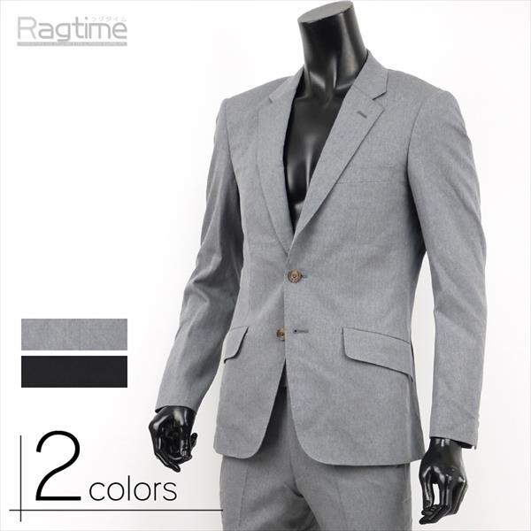 ジャケット メンズ テーラードジャケット テーラード ツイル ドレス 黒 グレー トラッド G260213-01