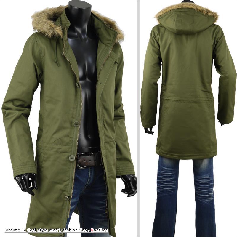 Ragtime Mods Coat Men S Coat Military Cotton Fur Boa Coat Winter