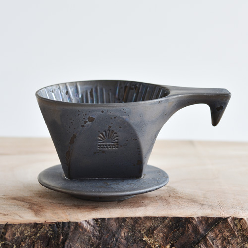 ONE KILN CERAMICS/COFFEE DRIPPER(TRAPEZOID)ASH/wankirunkohidorippa梯形
