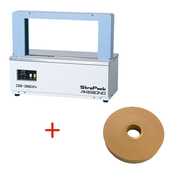 帯掛機OB-360N + 紙帯テープ(30mm * 190m) セット
