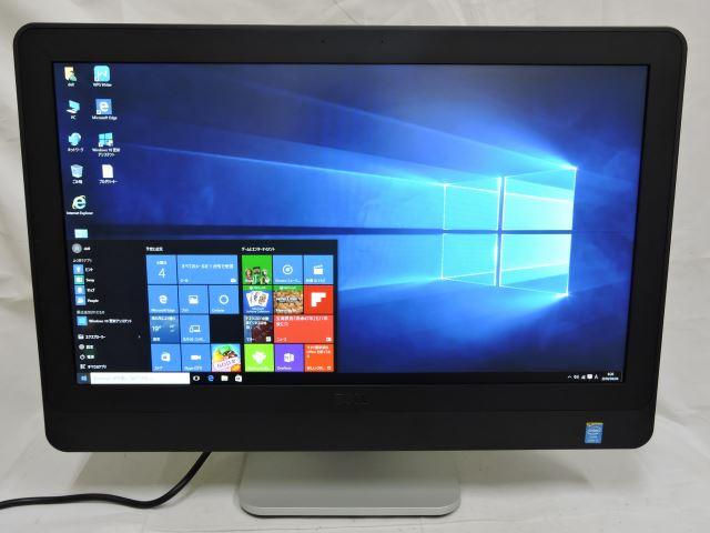 あす楽 即日発送対応 十台限定 DELL 良品 23型デスクトップ 液晶一体型PC DELL OptiPlex 9020 AIO /Win10 Pro 64/四世代Core i5/4G/500G/無線/Kingsoft Office 2016 【一体型 中古パソコン 中古PC】