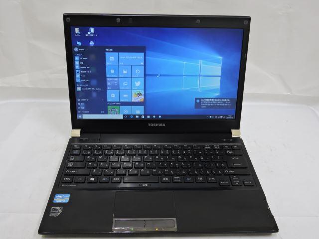 あす楽対応 即日発送可 訳あり13.3w型東芝 dynabook R732/H Win10 64 pro /三世代Core i5/4G/SSD 256G/無線/Bluetooth/リカバリ領域有/KingSoft office 2016【中古ノートパソコン 中古パソコン 中古PC office付】