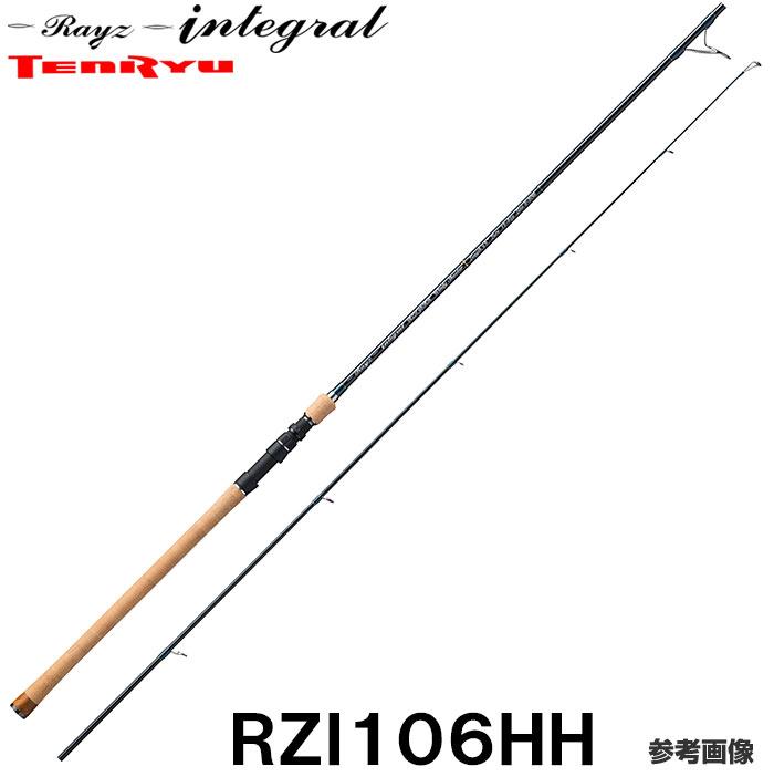 テンリュウ レイズインテグラル RZI106HH (WindyShooter-HD) スピニング 2ピース