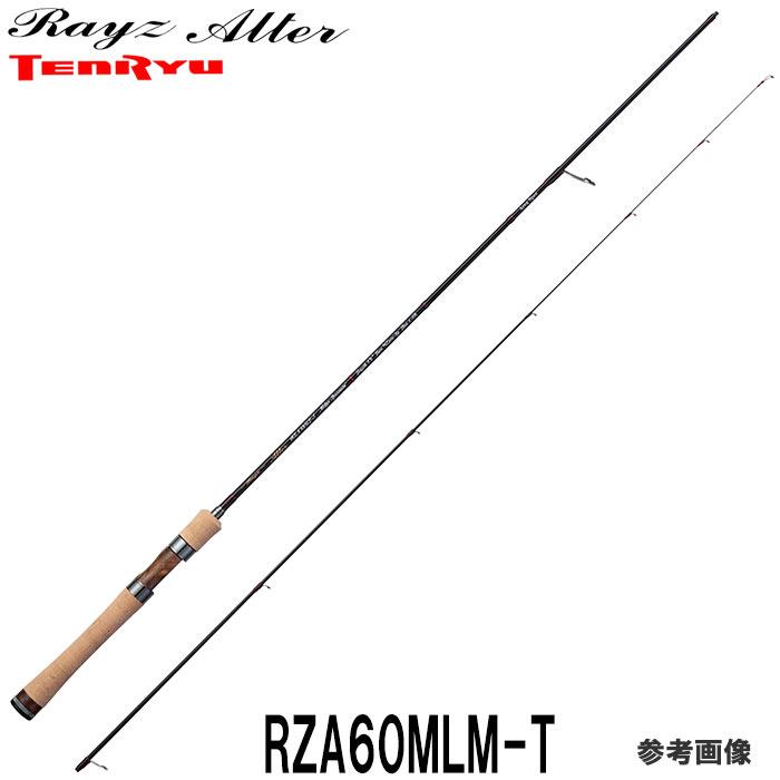 エリア専用ロッド テンリュウ レイズ オルタ RZA60MLM-T(Midge Minnowin') 2ピース スピニング