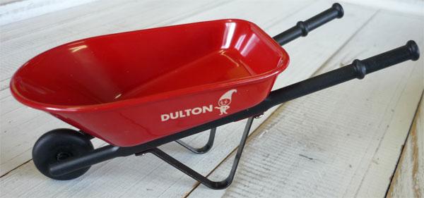 ミニミニサイズのカート型小物入れ 限定特価 DULTON ダルトン インテリア雑貨 Mini Barrow Wheel 即日出荷