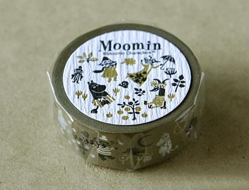 ムーミン雑貨 北欧雑貨 ムーミン クラフト ムーミン谷の仲間たちシリーズ ストアー マスキングテープ お気に入り
