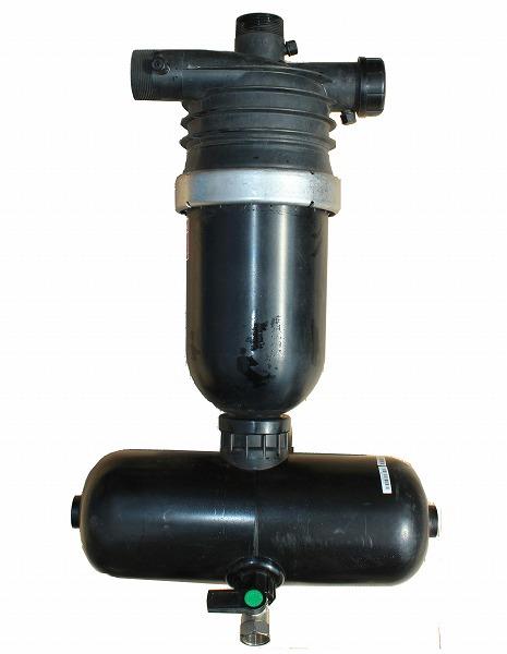 2インチ ハイドロコーン・サンドセパレーター 砂ためタンク付 AR325