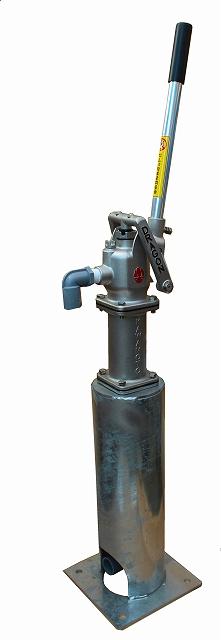 HDS25ドラゴン号筒型スチール製亜鉛メッキ土台セットモデル