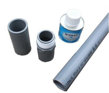 手押しポンプ35用塩ビ管8mセット