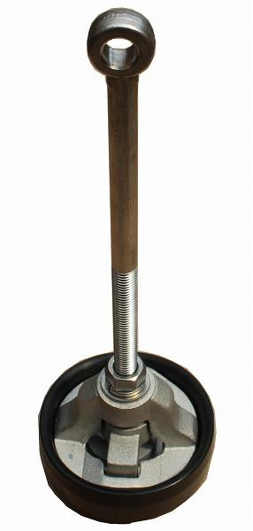 高耐久性を実現した名器・津田式ポンプのデザインを踏襲した防災用アルミ製ピストン 32サイズ