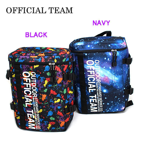 Official team OFFICIAL TEAM 2018 spring and summer FUSE BOX BACK PACK on