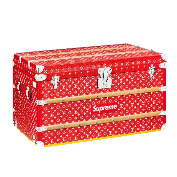 【LOUIS VUITTON】 【未使用】ルイヴィトン × シュプリーム LOUIS VUITTON × Supreme Malle Courrier 90 Trunk モノグラム マルクーリエ90トランクケース 【中古】