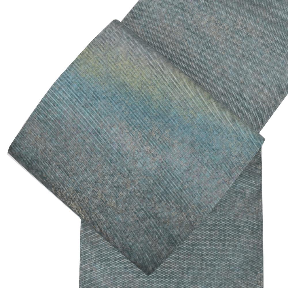 正絹おしゃれ袋帯 オーロラ箔・全通
