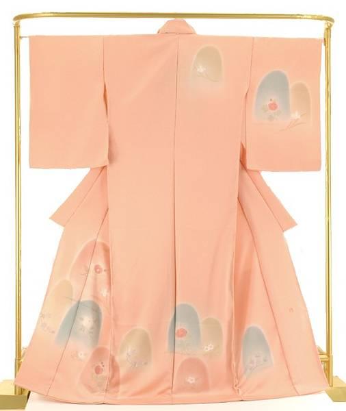 正絹訪問着 【花憐】村上華信 作 結婚式 卒業式 フォーマル 和装 着物