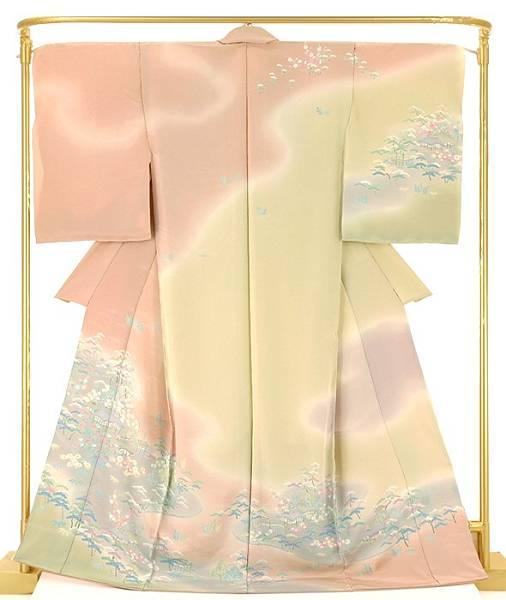 正絹加賀調訪問着 茶屋辻 結婚式 卒業式 フォーマル 和装 着物