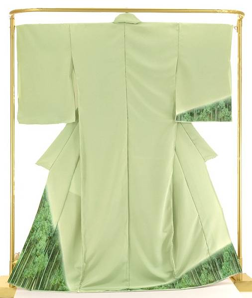 正絹 刺繍訪問着 北山杉 結婚式 卒業式 フォーマル 和装 着物