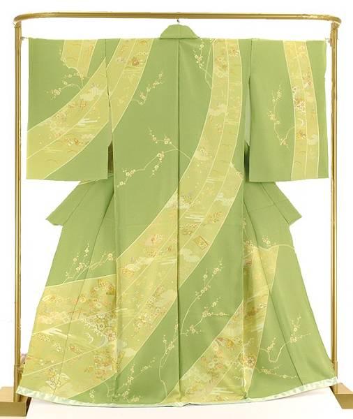 正絹手描訪問着 熨斗取り御所解文 結婚式 卒業式 フォーマル 和装 着物