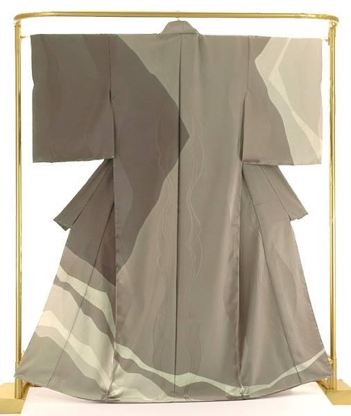 正絹洒落訪問着 臈纈・奥嵯峨 結婚式 卒業式 フォーマル 和装 着物