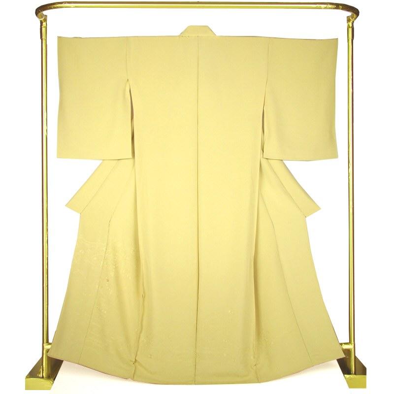 色絵羽訪問着 刺繍更紗文・蒸栗色 結婚式 卒業式 フォーマル 和装 着物