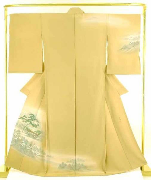 結婚式 卒業式 正絹 作 高橋一海 フォーマル 手描訪問着 着物 和装