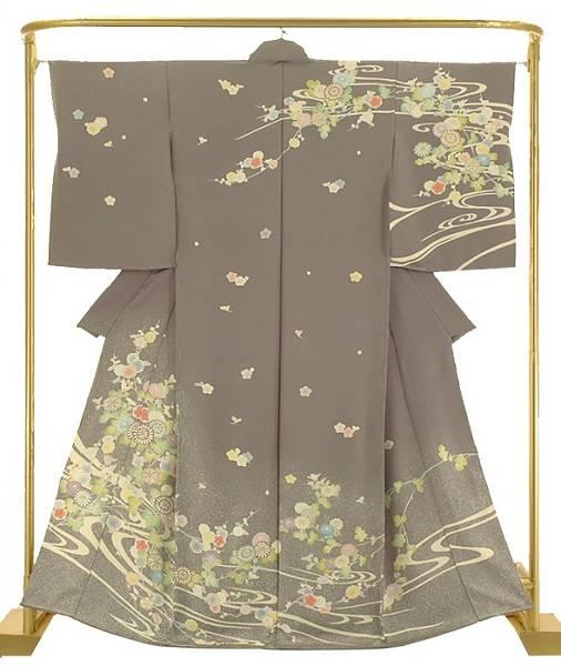 正絹手描き訪問着 臈纈花宴 結婚式 卒業式 フォーマル 和装 着物