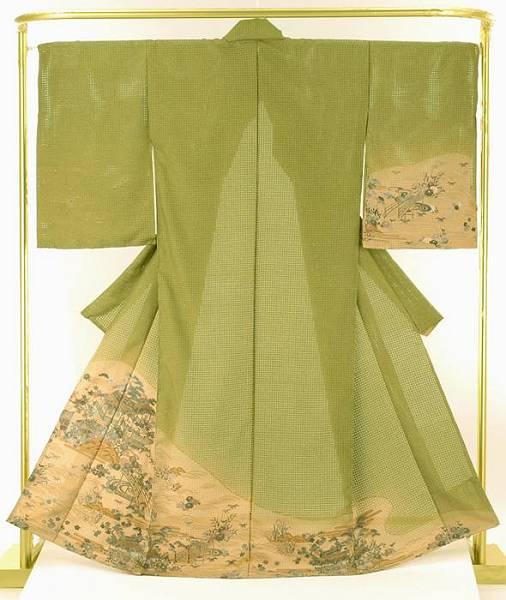 正絹総刺繍訪問着 茶屋辻模様 結婚式 卒業式 フォーマル 和装 着物