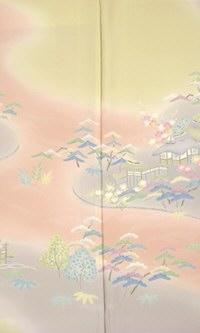 正絹 加賀調訪問着 茶屋辻 結婚式 卒業式 フォーマル 和装 着物